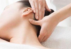 Relaksacyjny masaż twarzy, szyi i głowy